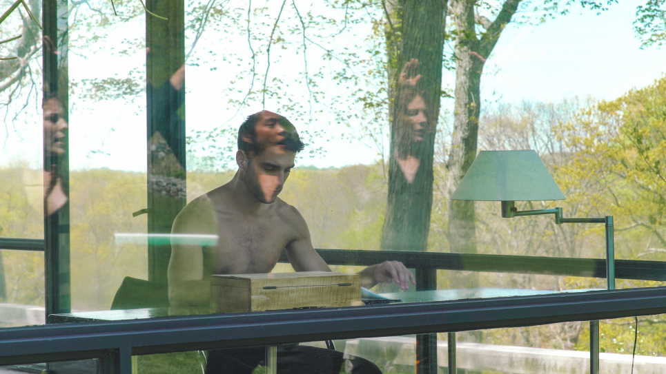 "Press Play: Gerard & Kelly, ""Schindler/Glass"""